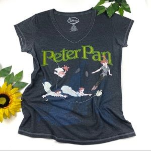Disney Peter Pan Tinkerbell Short Sleeve Shirt